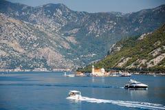 Kotor bay, Montenegro. Sunny day royalty free stock photography