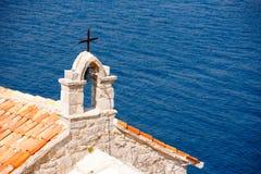 Kotor bay, Montenegro. Kotor bay view in Montenegro stock images