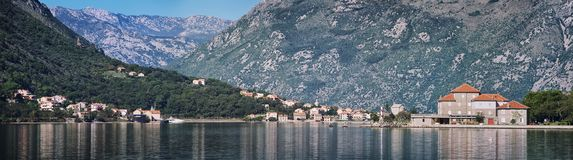 Kotor Bay in Montenegro Stock Images