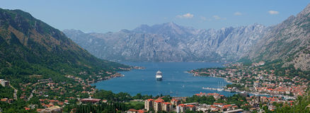 Kotor Bay Royalty Free Stock Images