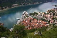 Kotor-Bucht lizenzfreies stockfoto