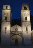 Kotor cathedral Royalty Free Stock Images