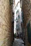 Kotor city. Kotor is the top city to visit in 2016 according to Lonely Planet Royalty Free Stock Photography