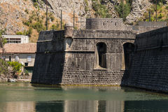 Kotor City Wall Fortifications Royalty Free Stock Photography