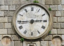 Kotor clock Royalty Free Stock Photography