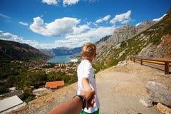 Kotor an einem schönen Sommertag, Montenegro Lizenzfreie Stockbilder