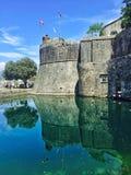 Kotor fästning, Kotor, Montenegro Royaltyfri Fotografi