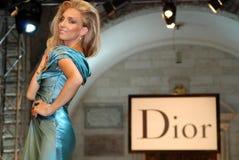 Kotor fashion week Royalty Free Stock Image