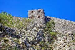 Kotor-Festung lizenzfreie stockbilder