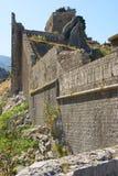 Kotor Festungsruinen Stockbilder