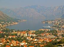 Kotor fjärd, Montenegro Royaltyfri Bild