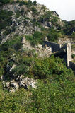 Kotor fortifications Stock Images