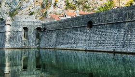 Kotor fortress Royalty Free Stock Images