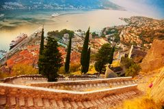 Kotor From The Fort Royalty Free Stock Photo