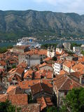 Kotor Habrour View Royalty Free Stock Images