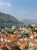 Kotor Habrour View Royalty Free Stock Photos