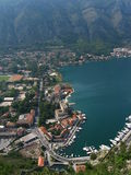 Kotor Habrour View Stock Image
