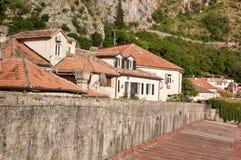 Kotor jest miasteczkiem przybrzeżnym w Montenegro Fotografia Stock