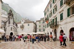 Kotor. Main Square Stock Images