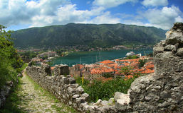 Kotor, Monténégro. Photos stock
