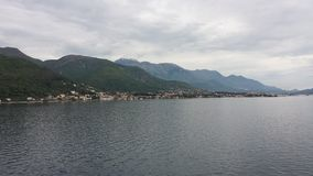 kotor montenegro залива Стоковые Изображения RF