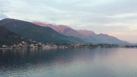 kotor montenegro залива Стоковое Изображение