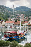 kotor montenegro залива Стоковая Фотография