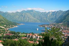 Kotor, Montenegro. Royalty Free Stock Photo