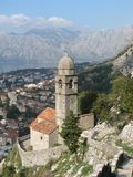 Kotor - Montenegro. Kotor Montenegro Church old-town historic Stock Image