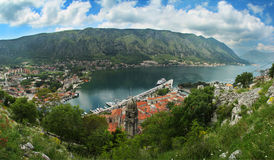 Kotor, Montenegro. Stockbilder