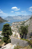 Kotor in Montenegro Royalty Free Stock Photography