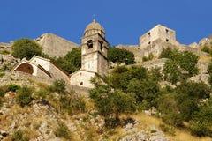 Kotor, Montenegro. Part of old town, Kotor, Montenegro Royalty Free Stock Image