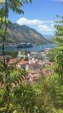 kotor montenegro Royaltyfria Foton