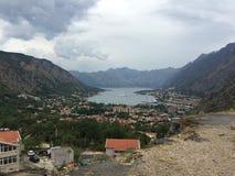 kotor montenegro стоковая фотография