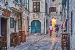 Kotor, Montenegro Immagini Stock