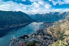 Kotor. Montenegro Kotor Adriatic Europe Old Town Boka Royalty Free Stock Photos