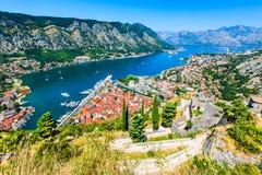 Kotor, Montenegro, Adriatic Sea Stock Image
