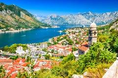 Kotor, Montenegro, adriatisches Meer Stockfoto