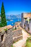Kotor, Montenegro, adriatisches Meer Lizenzfreies Stockfoto