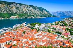 Kotor, Montenegro, adriatisches Meer Stockbilder