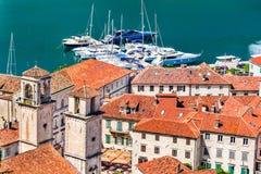 Kotor, Montenegro, adriatisches Meer Lizenzfreie Stockfotos