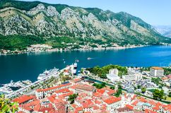 Kotor, Montenegro - alte mittelalterliche Stadt Lizenzfreie Stockfotografie