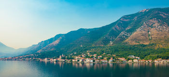 Kotor, Montenegro. Bay of Kotor. Royalty Free Stock Images