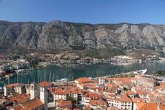 Kotor Montenegro. Boka Bay Kotor Montenegro historical town see life people nature stock image