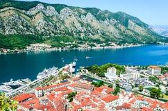 Kotor, Montenegro - cidade medieval velha Fotografia de Stock Royalty Free