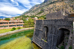 Kotor, Montenegro. Old fortress in Kotor, Montenegro Stock Photos