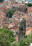 Kotor, Montenegro van hierboven Stock Afbeelding