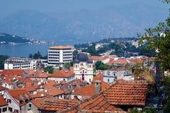 kotor Montenegro widok Zdjęcie Stock