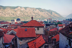 Kotor in the morning Royalty Free Stock Photos