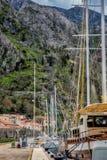 Kotor mura Montenegro Fotografia de Stock Royalty Free